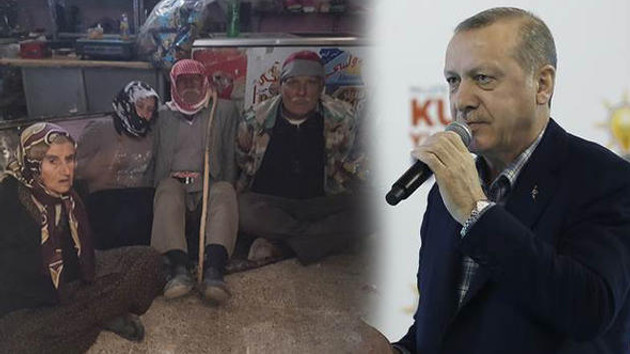 Erdoğan bu görüntüye çok öfkelendi: Haberlerde gördünüz, Nebbaşlar sürüsü..