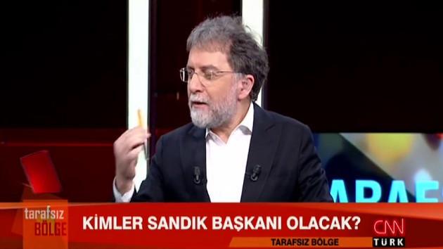 Konukları Ahmet Hakan'ı bezdirdi!