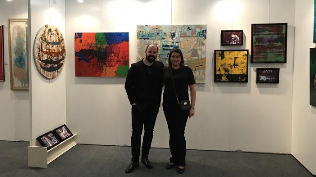 4 Uluslararası Ankara çağdaş Sanat Fuarına ünlü Ressamlar