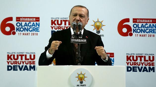 Erdoğan Diyarbakır'da: Terör örgütü uslanmadı, mecburen köteği devreye soktuk