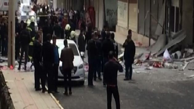 Diyarbakır'da patlama! Yaralılar var