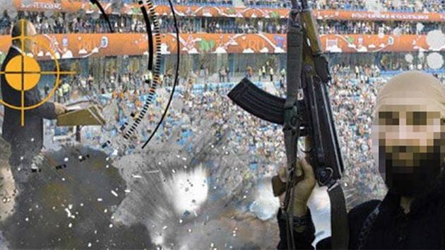IŞİD'den Putin afişli Dünya Kupası tehdidi