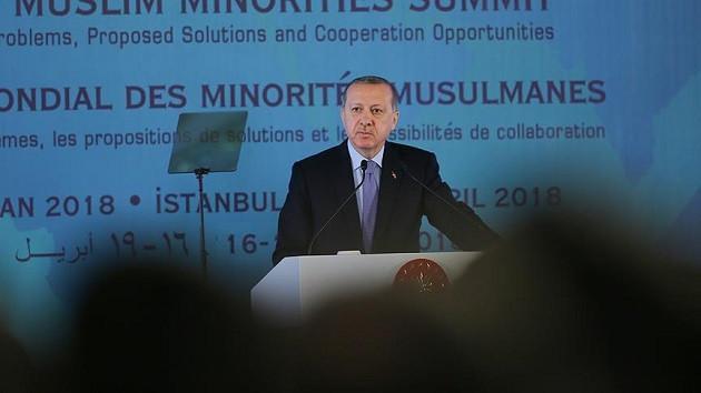 Erdoğan'dan sert sözler: Cezayir'de katlediyorsun sonra Suriye'de akıl veriyorsun
