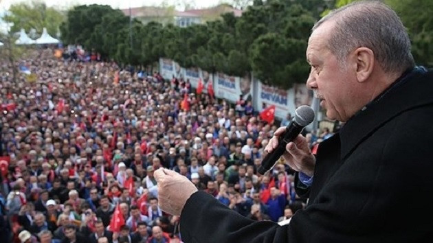 Erdoğan'ın mitinginde yuh sesleri: Böyle başkan istemiyoruz