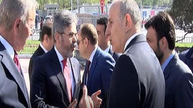 Taksim'deki 23 Nisan törenine CHP'lilerden tepki