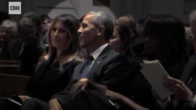 First Lady'nin bu görüntüsü ABD'nin gündemi oldu