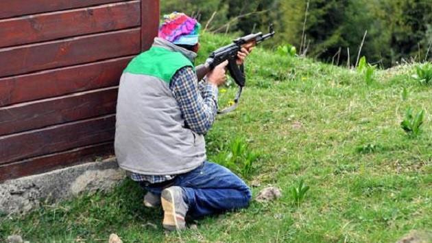 Doğu Karadeniz'de gönüllü korucular terörist avında
