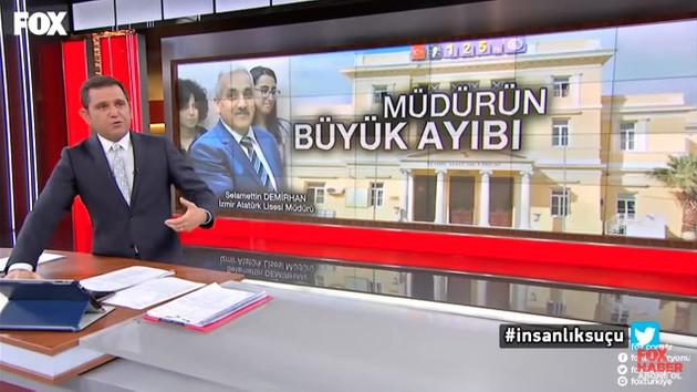 Fatih Portakal'dan O müdüre tepki: Maalesef elini sıkmıştım...