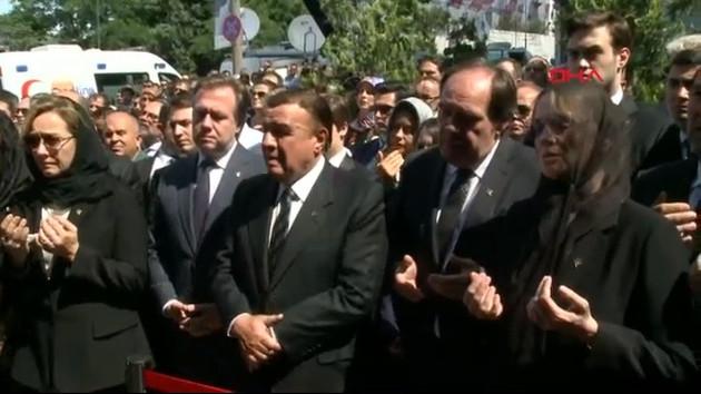 Erdoğan Demirören son yolculuğuna uğurlanıyor