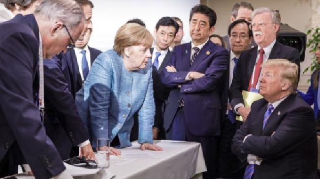 G7 zirvesi krizi: Trump müttefiklerine ateş püskürdü
