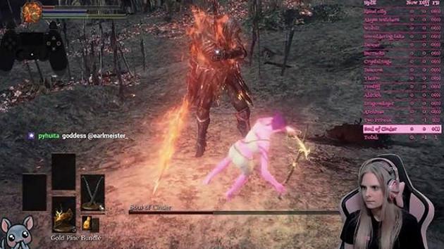 Suzie adlı Twitch yayıncısı Dark Souls III'ü hiçbir darbe almadan bitirdi