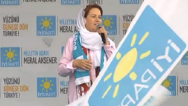 Meral Akşener: Adalet sarayları yapmışlar içinde adalet yok