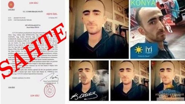 Sahte belgeyle iftira atan İzzet Aşkar gözaltına alındı!