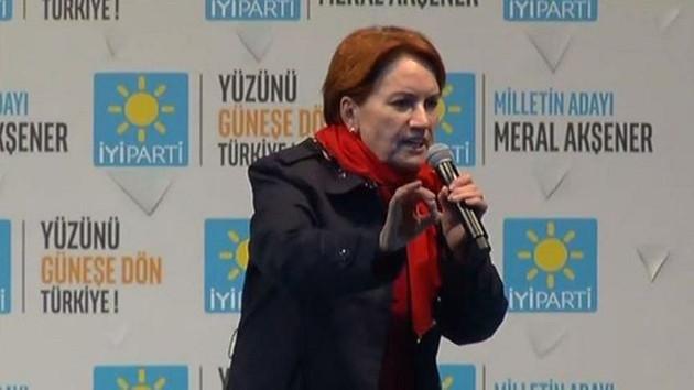Akşener'den Başbakan'a: Bu lafları onlara yedireceğiz