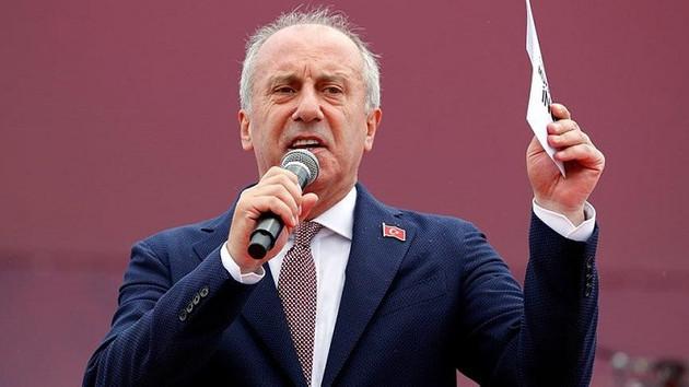 İnce'den Erdoğan'a: 5 milyonluk miting yayınını kestiriyorsan bitmişsindir