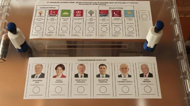 Türkiye sandık başında! Oy verme işlemi başladı