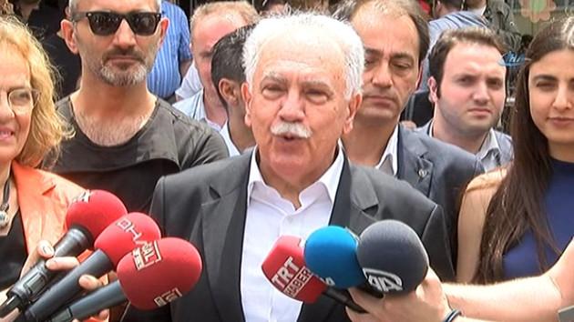 Doğu Perinçek oyunu kullandı: Atatürk'ün partisi PKK'yla beraber olamaz