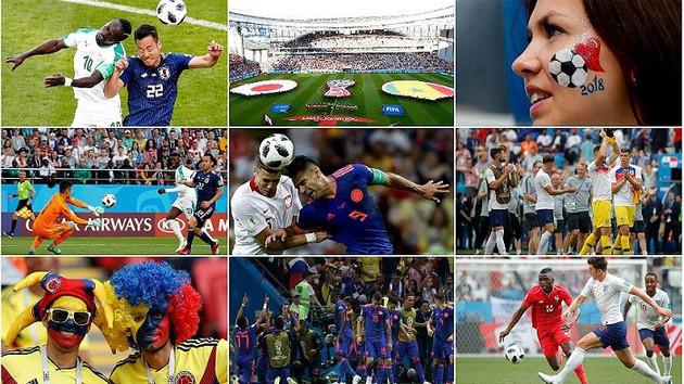 Kolombiya, Polonya'yı 3-0 yendi, İngiltere ve Belçika son 16 turunda
