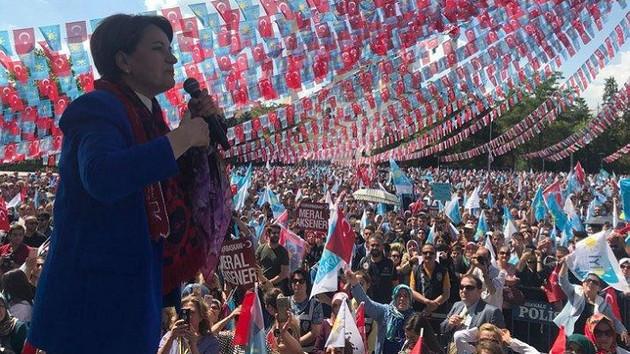 Akşener'den Gaziantepspor Başkanı'na: Canımı alacakmış, bekleriz birader bekleriz