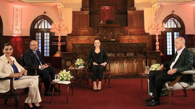 Erdoğan'a reyting şoku: Katıldığı program sıralamada 27'nci oldu