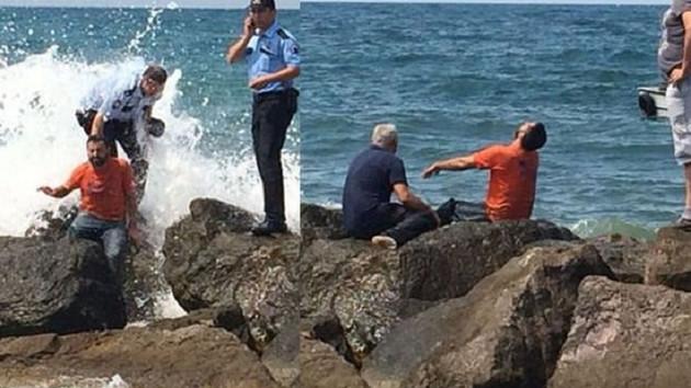 Giresun'da denize giren 3 çocuktan 2'si hayatını kaybetti