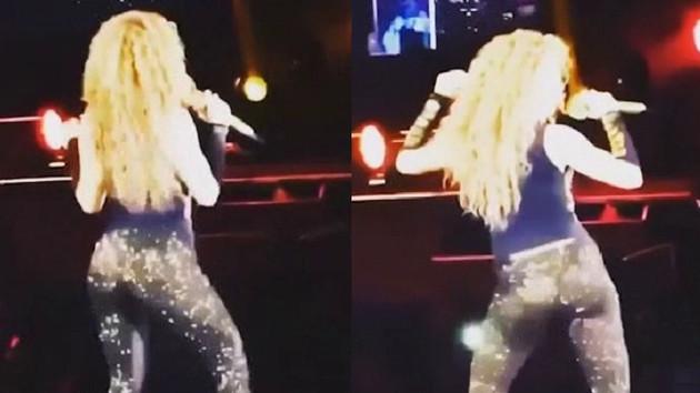 Shakira'dan konsere damga vuran dans!