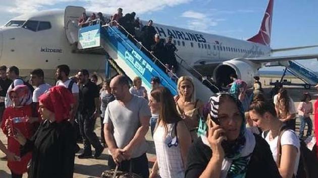 THY uçağında klima bozuldu, yolcular fenalaştı