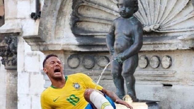 Brüksel Belediye Başkanı'nın Neymar paylaşımı sosyal medyayı salladı