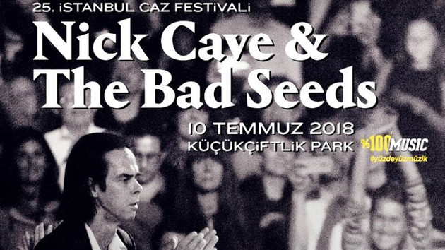 25. İstanbul Caz Festivali'nde Nick Cave haftası