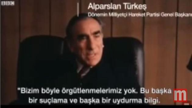 Alparslan Türkeş'in İngilizce konuştuğu video olay oldu