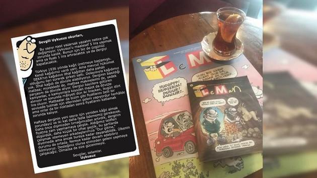 Leman Dergisi isyan etti: Kağıt krizi var, komadayız