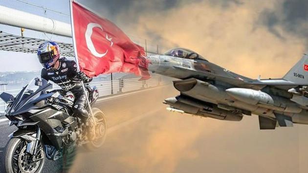 Kenan Sofuoğlu 3'üncü havalimanı tanıtımı için F-16 ile yarışacak
