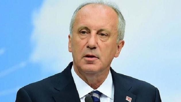 Muharrem İnce'den Erdoğan'a İş Bankası tepkisi
