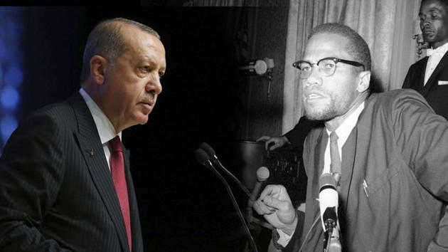 Malcolm X'in kızı İlyasa Şahbaz Erdoğan'ı babasına benzetti!