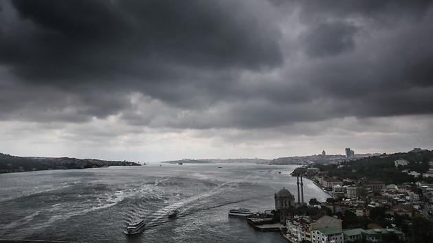 Son dakika: İstanbul'da sağanak yağış uyarısı