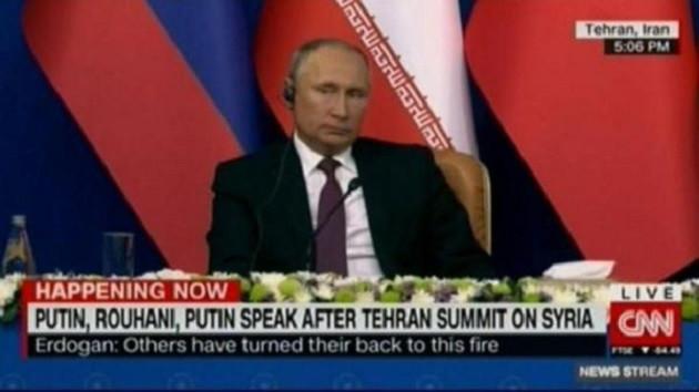 Russia Today CNN'in Erdoğan hatasıyla dalga geçti