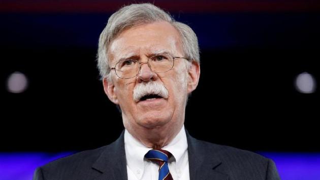 John Bolton'dan kritik Türkiye açıklaması