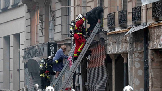 Paris'te patlama: En az 9 yaralı var