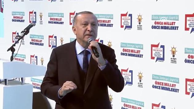 Erdoğan: Bizi kara kışa gömmek isteyenler, kendileri aynı sancıyla kıvranıyor