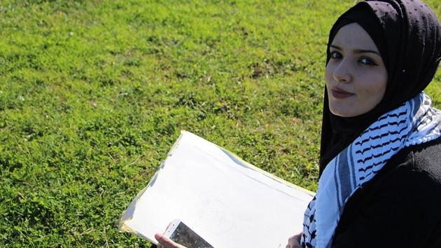 Filistinli genç kızın Erdoğan sevgisi: 6 saatte..