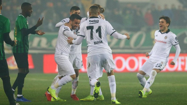 Beşiktaş ikinci yarının ilk maçında rahat kazandı