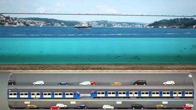 3 Katlı Büyük İstanbul Tünel Projesi planları onaylandı