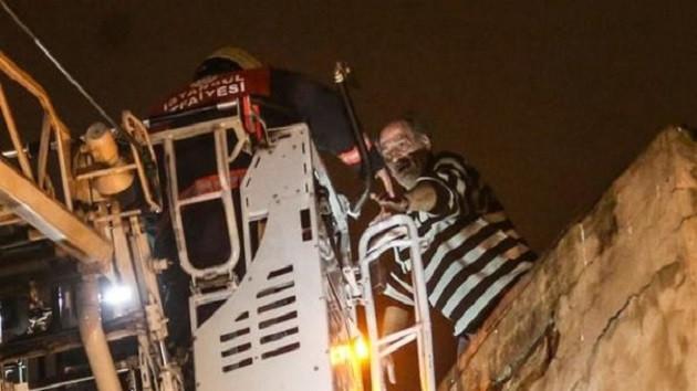 İstanbul'da iş hanında yangın: Ölü ve yaralılar var
