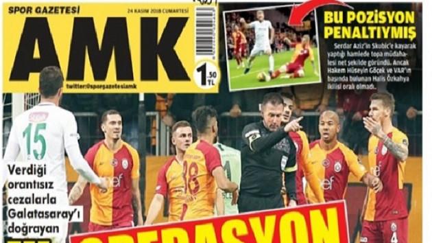 AMK Spor gazetesi kapatıldı!