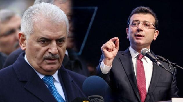 Binali Yıldırım, CHP adayı Ekrem İmamoğlu ile telefonda görüştü