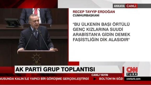 Son dakika: Erdoğan'dan Deniz Çakır'a tepki: Başörtülü kadınlara yaptığı Faşistliğin dik alası..