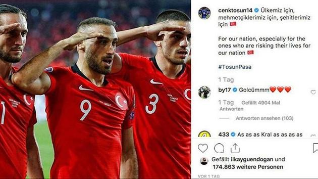 Türk futbolculara Türkiye'yi like'lama yasağı