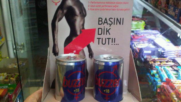 Buzzer benzeri enerji içeceklerinde cinsel gücü artırıcı Sildenafil çıktı