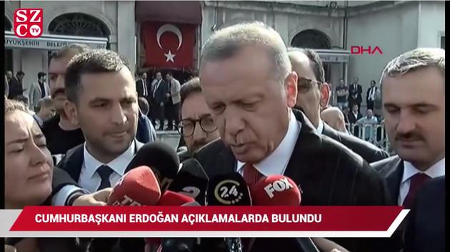 Erdoğan: Türk askeri kontrol ettiği bölgeyi terk etmeyecek