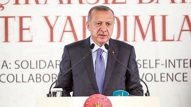 Erdoğan'dan sert sözler: Bizi silah ambargosuyla tehdit edenler…